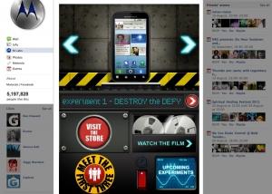 Motorola Facebook App