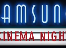 samsung cinema night logo