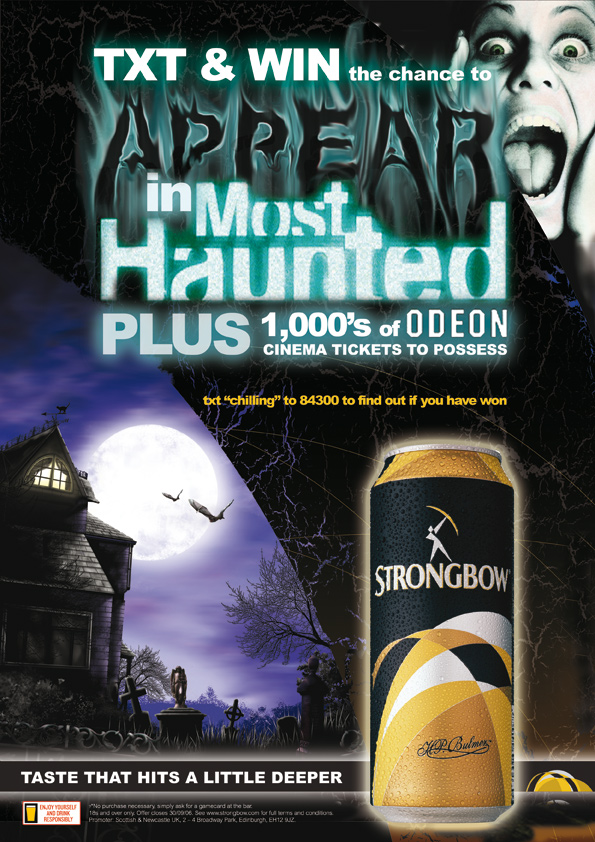 Strongbow Halloween Campaign